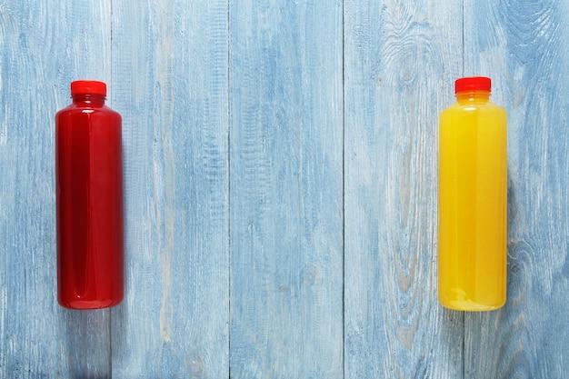 Bevande salutari frullato di frutta laici piatta
