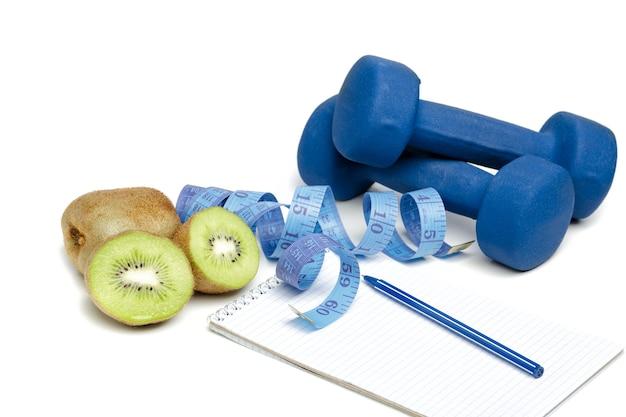 Alimentazione sana, dieta e perdita di peso, disintossicazione