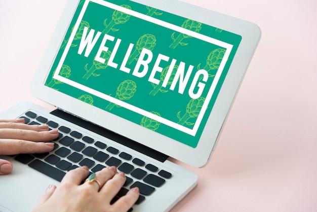 Stile di vita sano equilibrio calma benessere relax