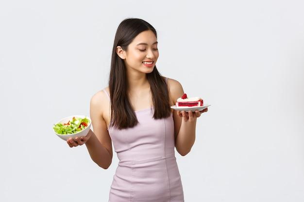 Stile di vita sano, tempo libero e concetto di cibo.