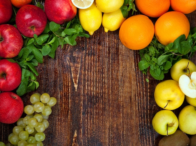 Frutta e verdura sane e saporite