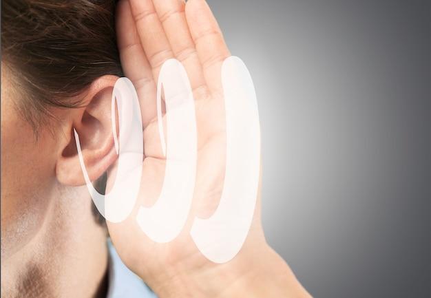 Aiuto per il disturbo dell'adulto della perdita del test del suono dell'udito