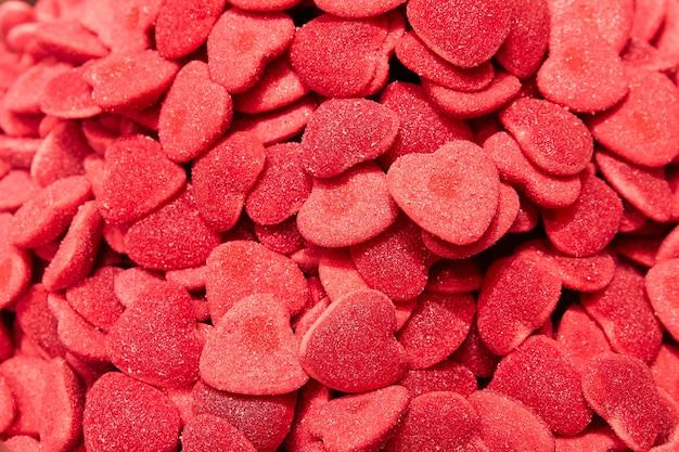 Caramelle gommose a forma di cuore