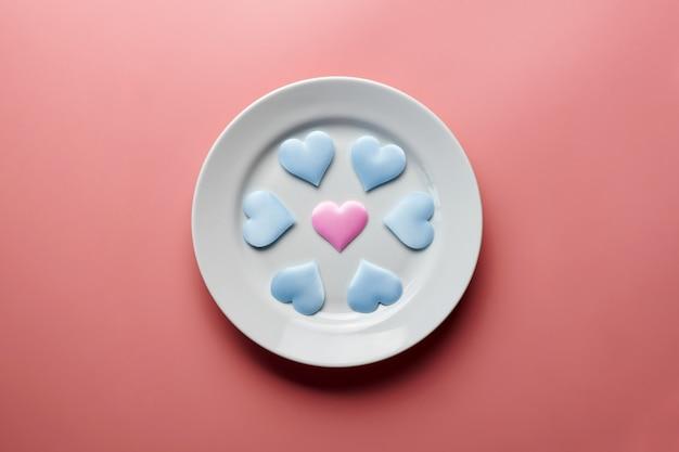 Cuori sul piatto