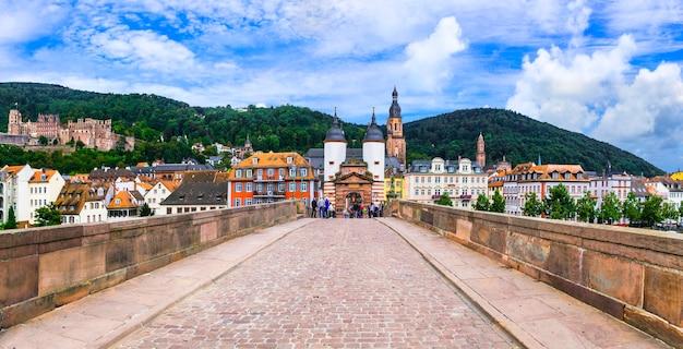 Heidelberg una delle più belle città medievali della germania