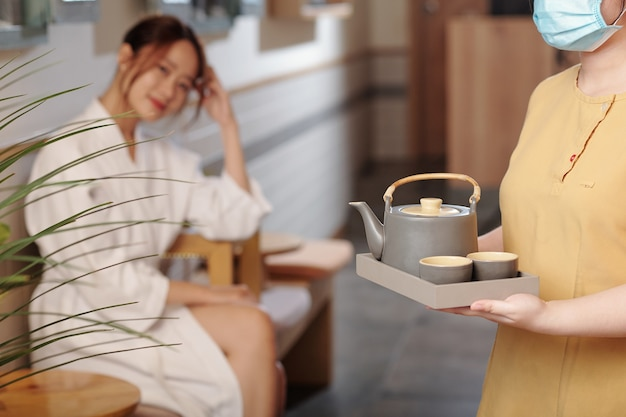 Herabl tea dopo la procedura spa