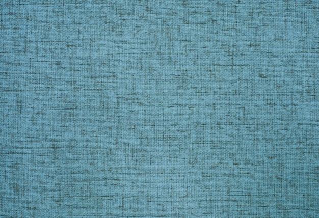 Tela di tela di sacco di iuta tessuta texture di sfondo in azzurro o colore verde acqua.