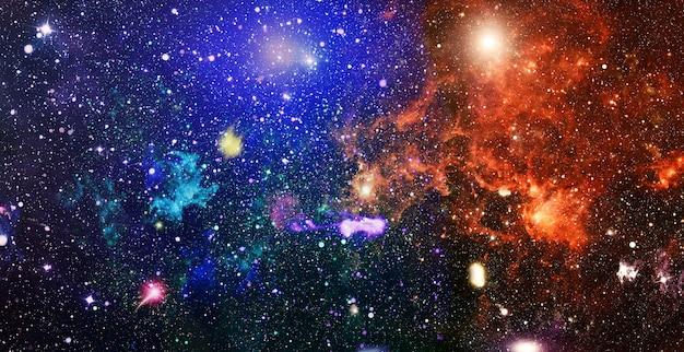 Sfondo del campo stellato ad alta definizione. struttura stellata del fondo dello spazio cosmico. sfondo colorato cielo notturno stellato nello spazio esterno