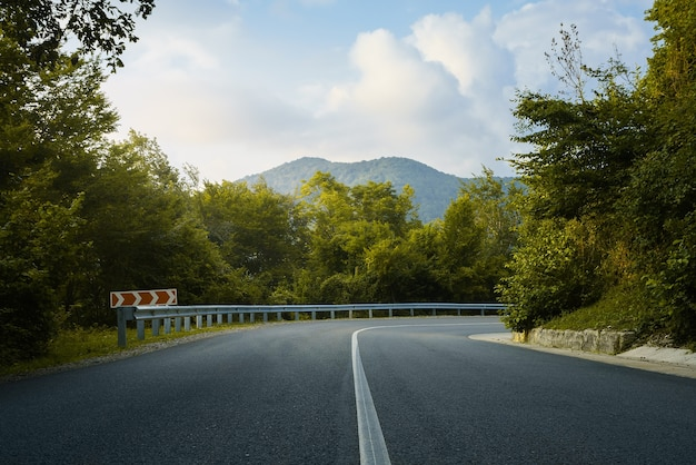 Strada dell'altopiano