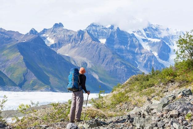 Escursione in alaska in estate
