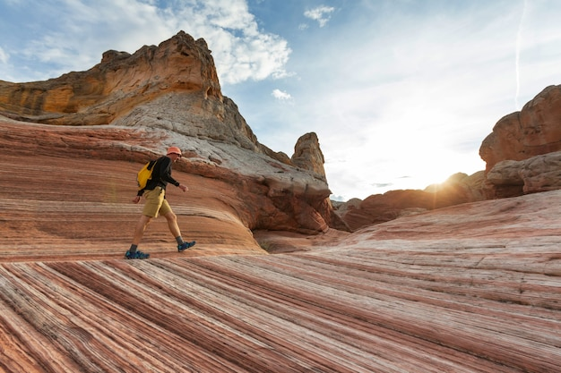 Escursione nelle montagne dello utah