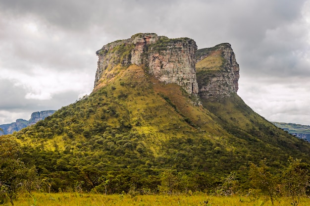 Collina di pai inacio al parco nazionale chapada diamantina palmeiras bahia state brazil