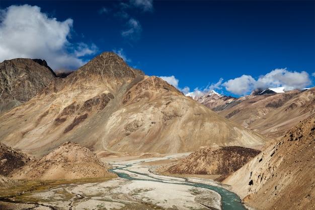 Paesaggio dell'himalaya