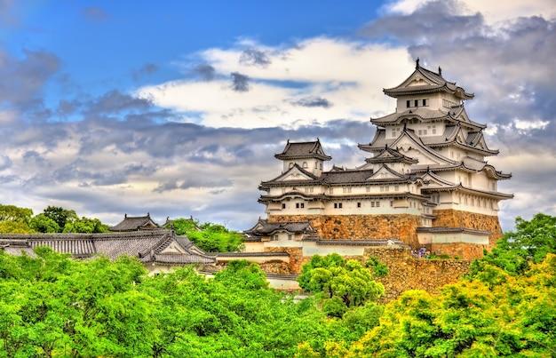 Castello di himeji nella regione del kansai in giappone