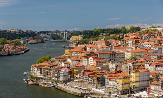 Il centro storico di porto, portogallo