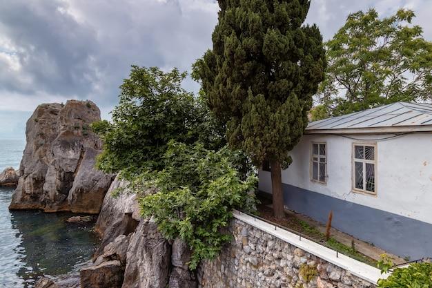 La casa storica vicino alla dacia di cechov dove viveva la cvetaeva gurzuf crimea