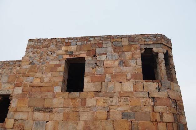 Immagine storica del muro di tipo vecchio