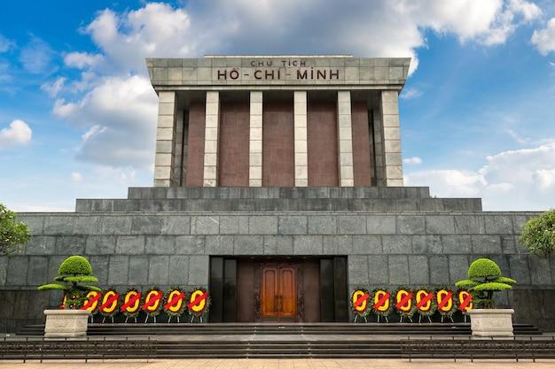 Mausoleo di ho chi minh ad hanoi, vietnam