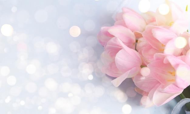 Sfondo di festa per la festa della mamma, 8 marzo, compleanno
