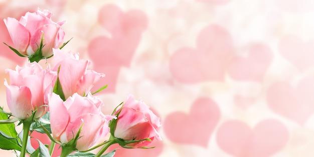 Priorità bassa della natura di vacanza con bellissimi fiori