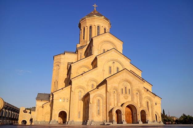 Cattedrale della santissima trinità di tbilisi conosciuta anche come sameba tbilisi capitale della georgia