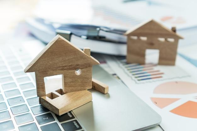 Modello di casa per immobili in prestito