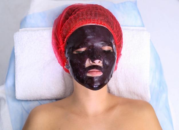 Maschera fatta in casa al cioccolato