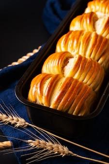 Pane morbido al latte di lana biologico fatto in casa