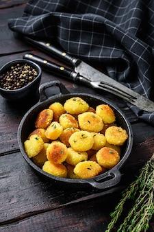Gnocchi di patate fatti in casa in padella