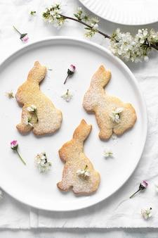Ricetta dei biscotti a forma di coniglietto di zucchero fatti in casa