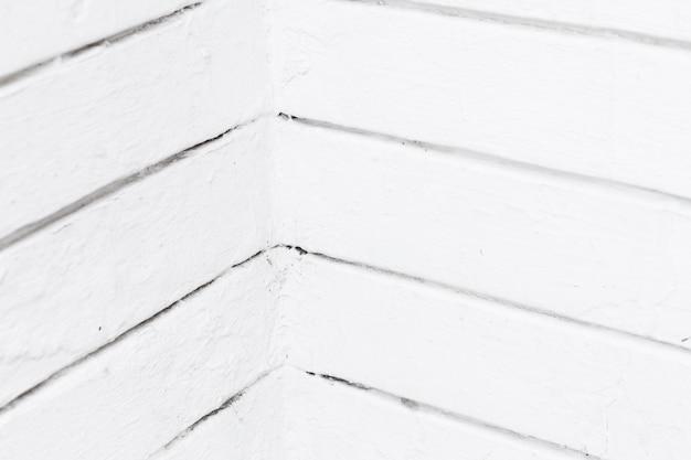 Linee bianche orizzontali di pareti angolari