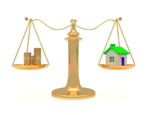 Casa e incassa sulla bilancia.