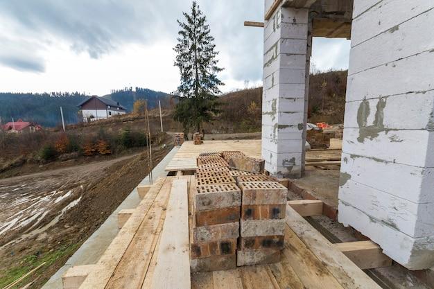 Camera interna in costruzione e ristrutturazione.