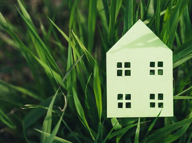 Concetto di alloggio in natura