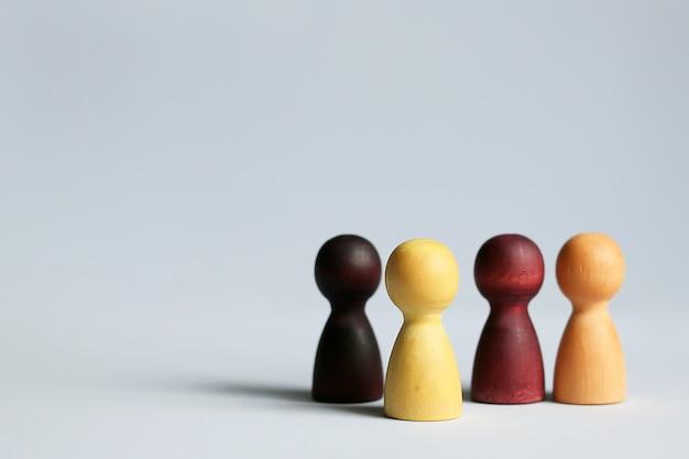 Risorse umane, dipendente di reclutamento, concetto di leader del team aziendale di successo