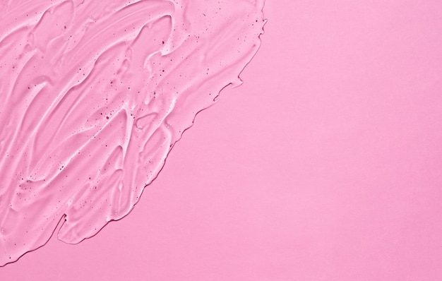 Gel cosmetico all'acido ialuronico. crema trasparente liquida trasparente cosmetica.