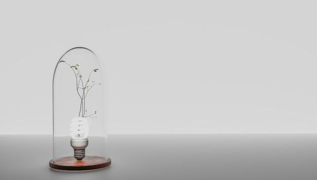 Ho un'idea e voglio proteggerla. brevettare un'idea. eureka, ho un'idea. simbolo della lampadina relativo a un'idea. la lampadina si è accesa. sfondo bianco.
