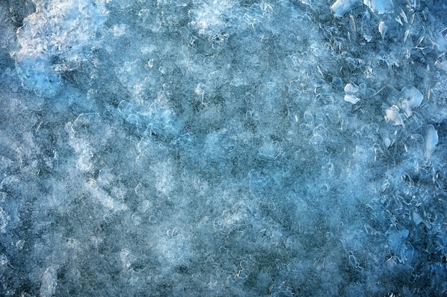 Sfondo di ghiaccio. sfondo naturale di ghiaccio