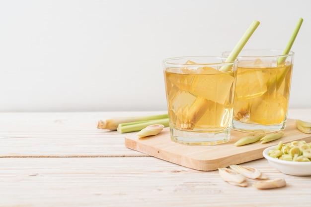 Succo di citronella ghiacciato