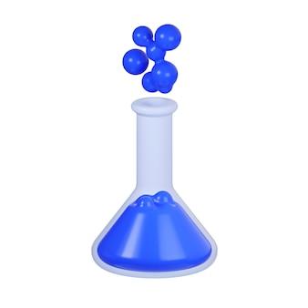 Icona della bottiglia con fluido isolato su bianco