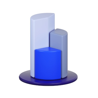 Icona del diagramma isolato su bianco