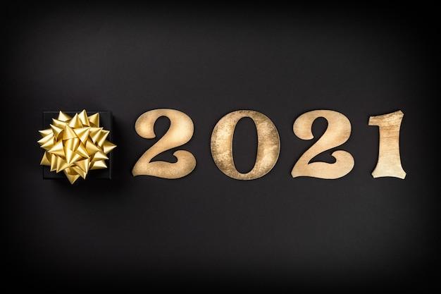Idea felice anno nuovo 2021.