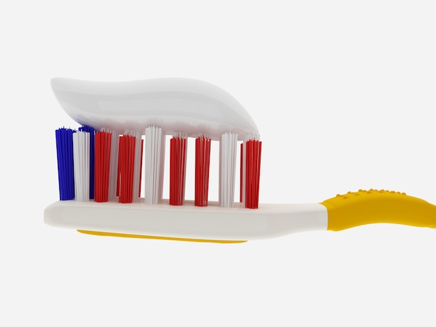 Igiene orale - spazzolino e dentifricio