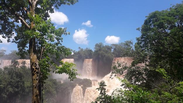 Cascate del fiume iguazu