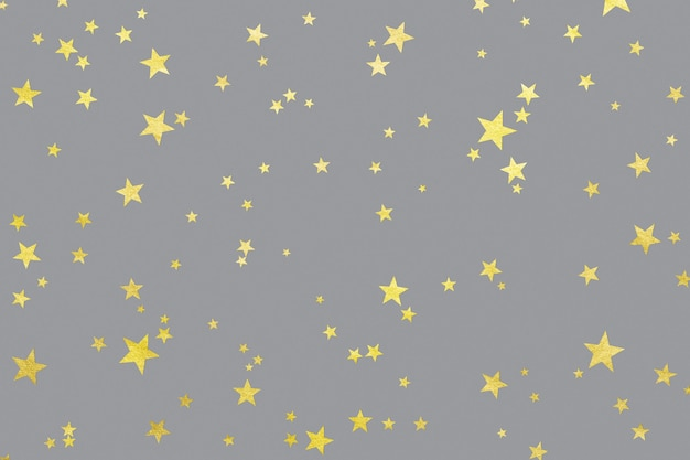 Stelle luminose sulla superficie ultimate grey