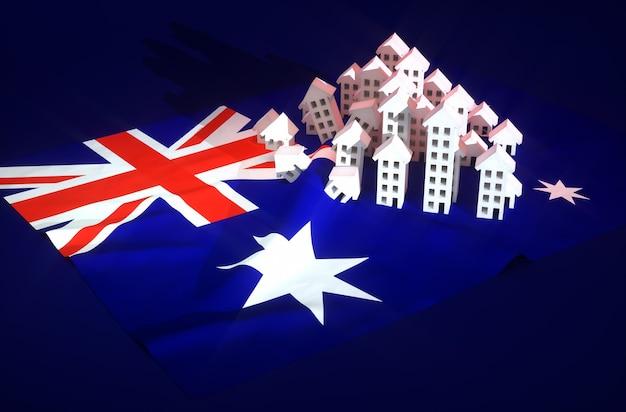 Illustrazione dello sviluppo immobiliare australiano