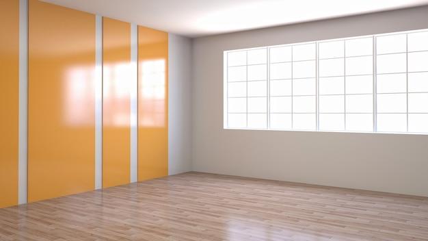 Illustrazione del design della camera interna