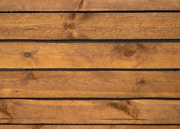 Immagine del vecchio fondo del piano d'appoggio di legno scuro, struttura di legno naturale e vista superiore del fondo di superficie per progettazione