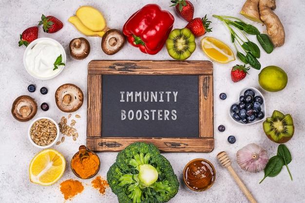 L'immunità aumenta il cibo