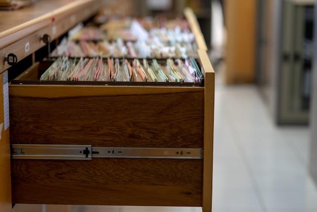 Documenti importanti conservati nel gabinetto.